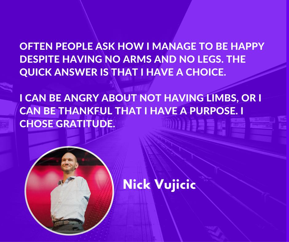 Life Story Of Nick Vujicic