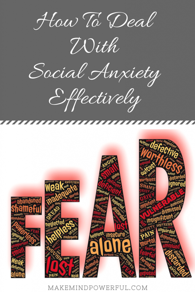 How To Deal With Social Anxiety Effectively