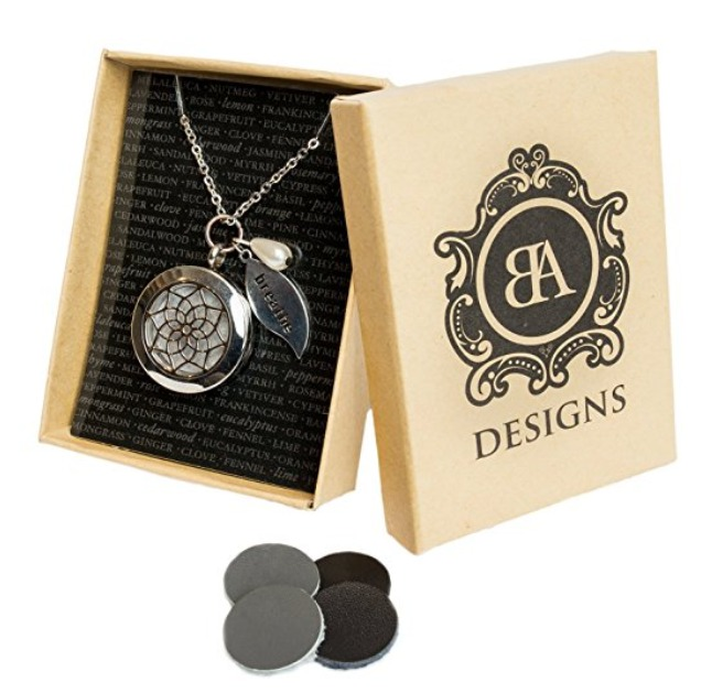 Best Aromatherapy Essential Oil Necklace Diffusers