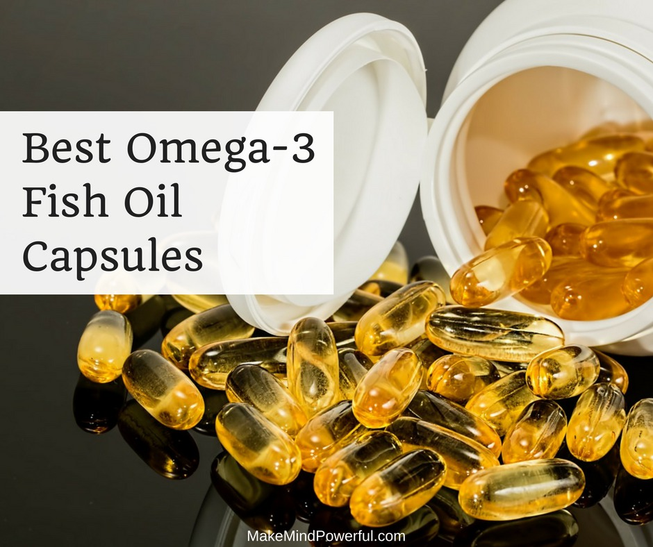 Best Omega 3 Fish Oil Capsules Supplements
