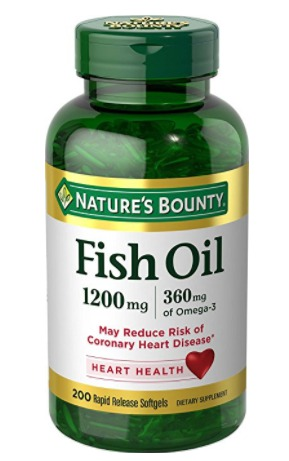 Best Omega 3 Fish Oil Capsules Supplements - Nature's Bounty