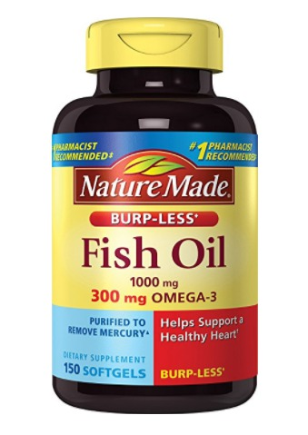 Best Omega 3 Fish Oil Capsules Supplements - Nature Made