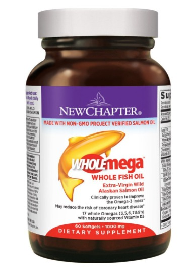 Best Omega 3 Fish Oil Capsules Supplements - New Chapter
