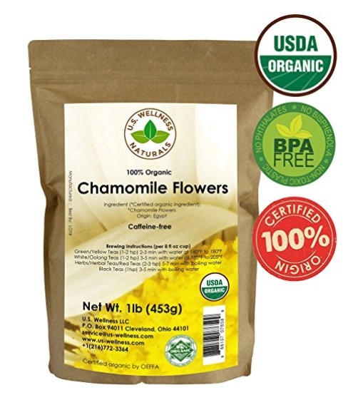 Best Organic Chamomile Tea Brand For Sleep