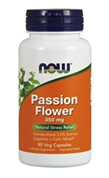 Best Passion Flower Supplement For Anxiety - Now Foods