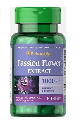 Best Passion Flower Supplement For Anxiety - Puritan's Pride