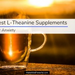 Best L-Theanine Supplements For Anxiety 2018