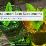 Best Lemon Balm Supplements For Stress And Anxiety 2018
