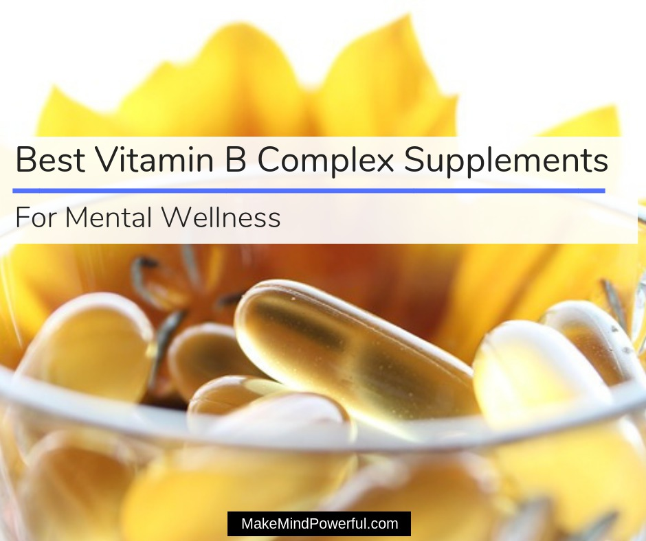 Vitamin B Complex Supplements