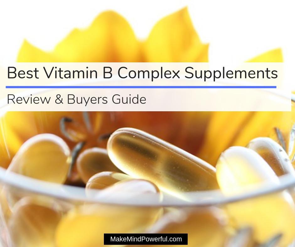 Best Vitamin B Complex Supplements